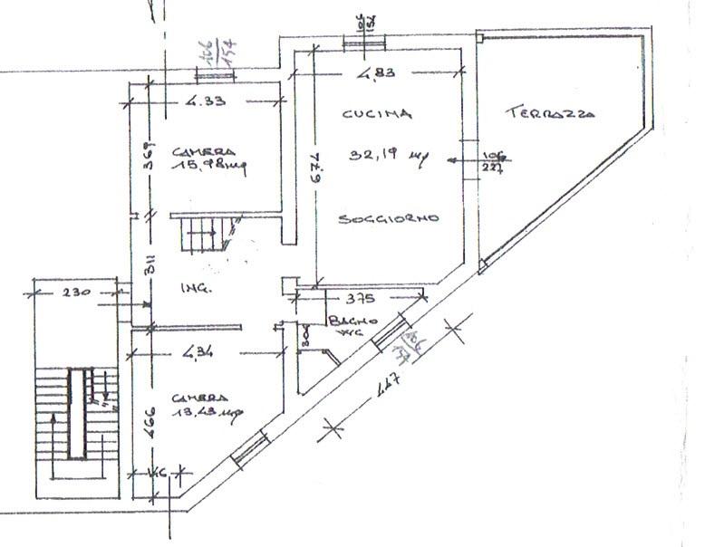Planimetria 1/2 per rif. 2942