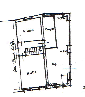 Planimetria 2/4 per rif. 2943