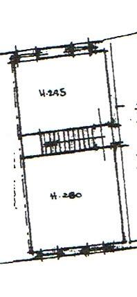 Planimetria 3/4 per rif. 2943
