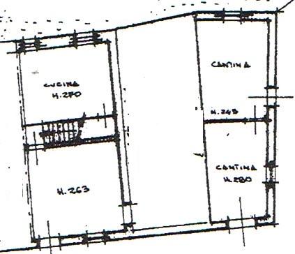 Planimetria 1/4 per rif. 2943