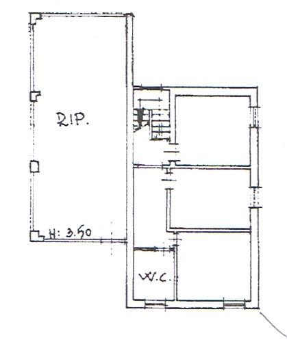 Planimetria 2/3 per rif. 2944