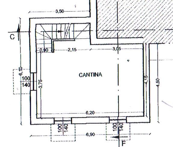 Planimetria 3/3 per rif. 2947