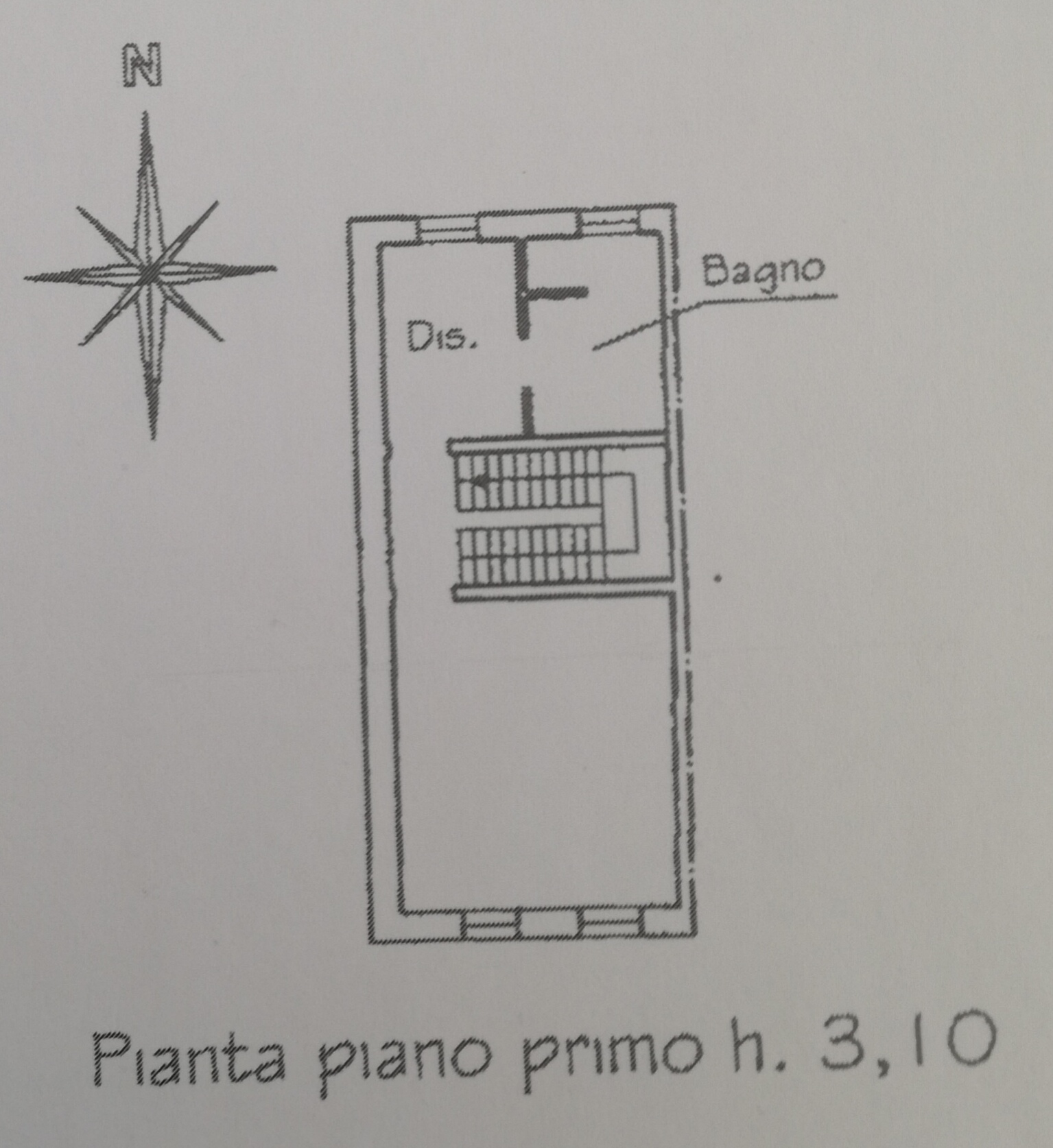 Planimetria 2/3 per rif. 2950