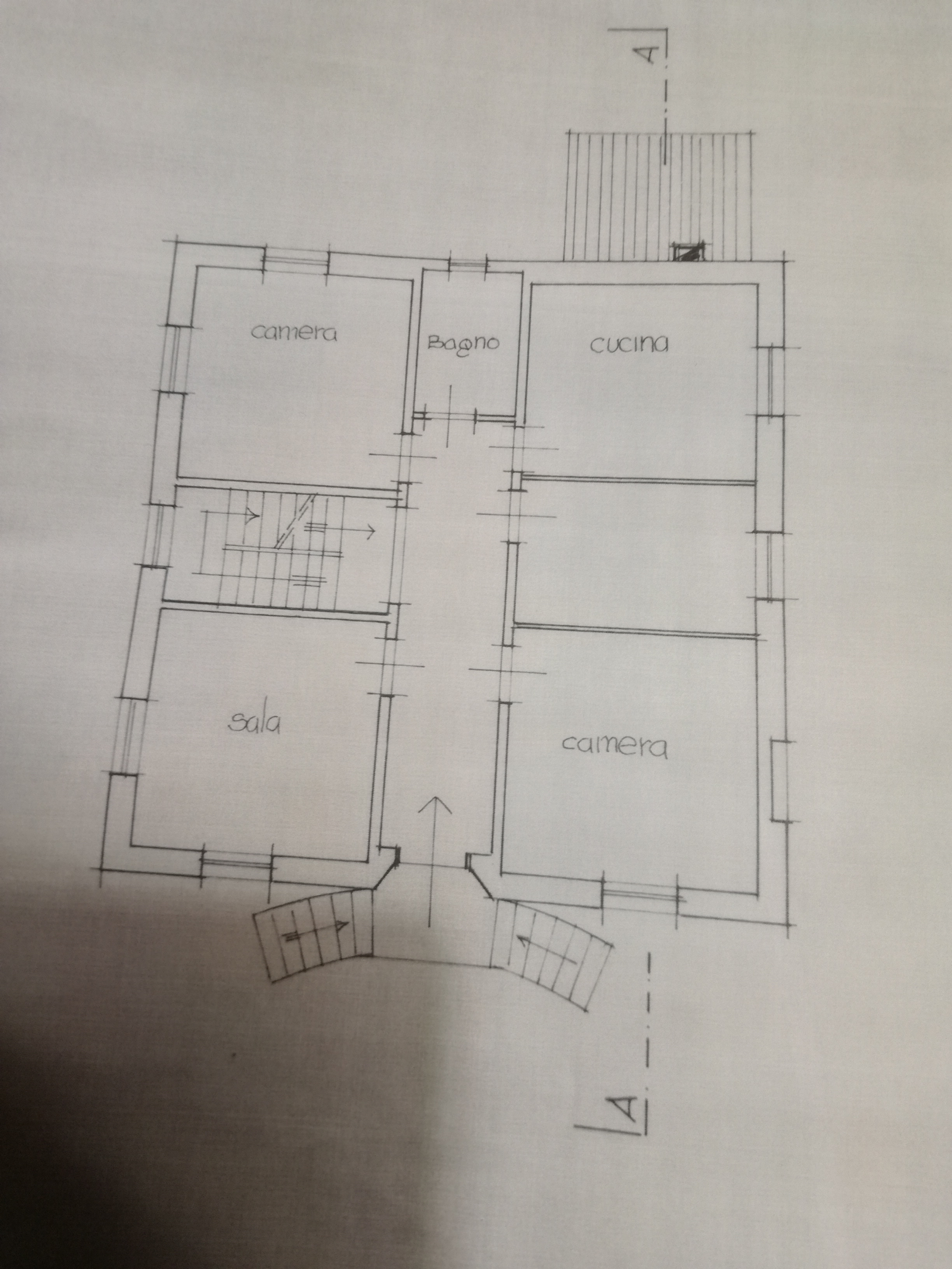 Planimetria 1/3 per rif. 2952