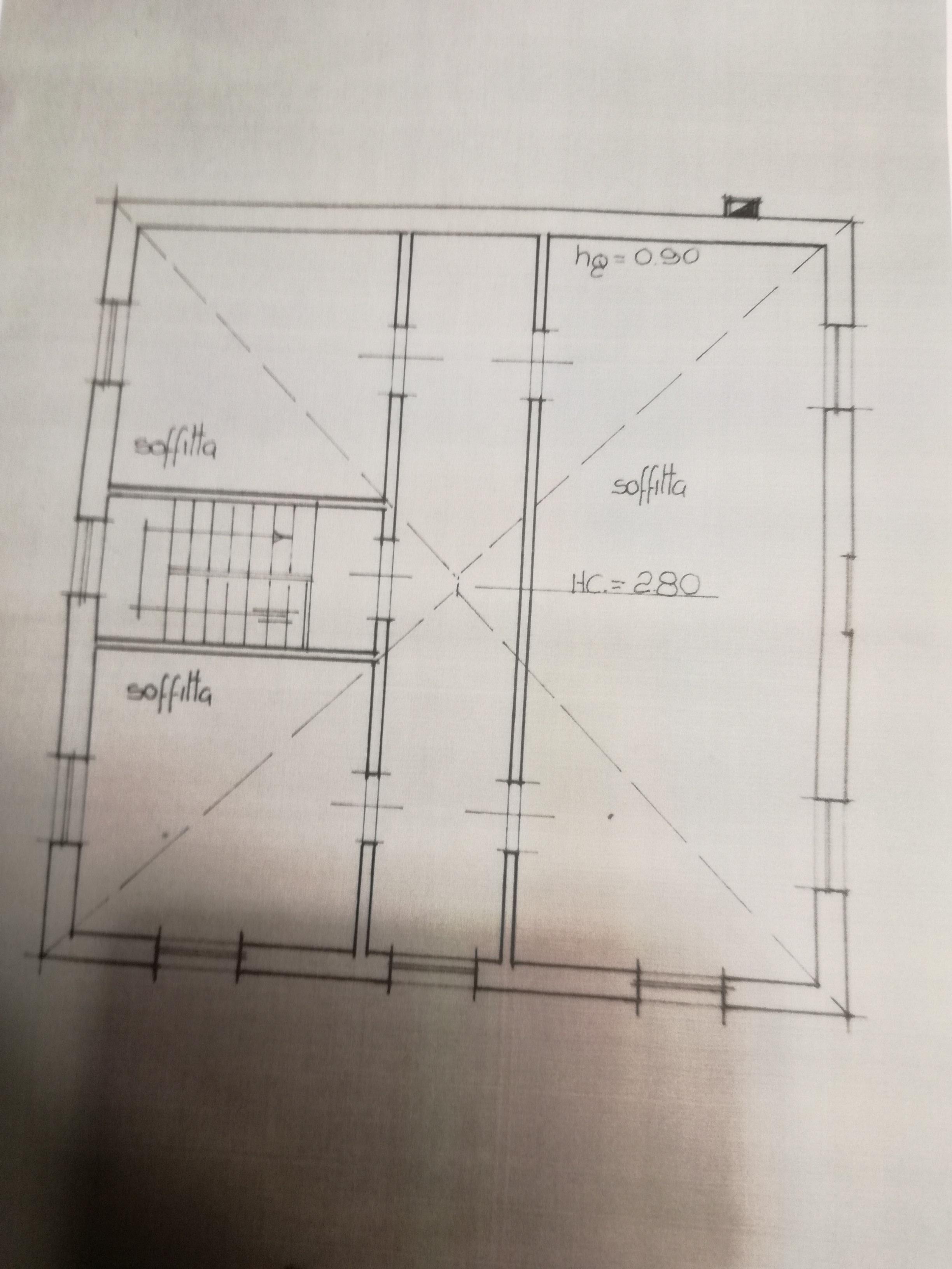 Planimetria 3/3 per rif. 2952