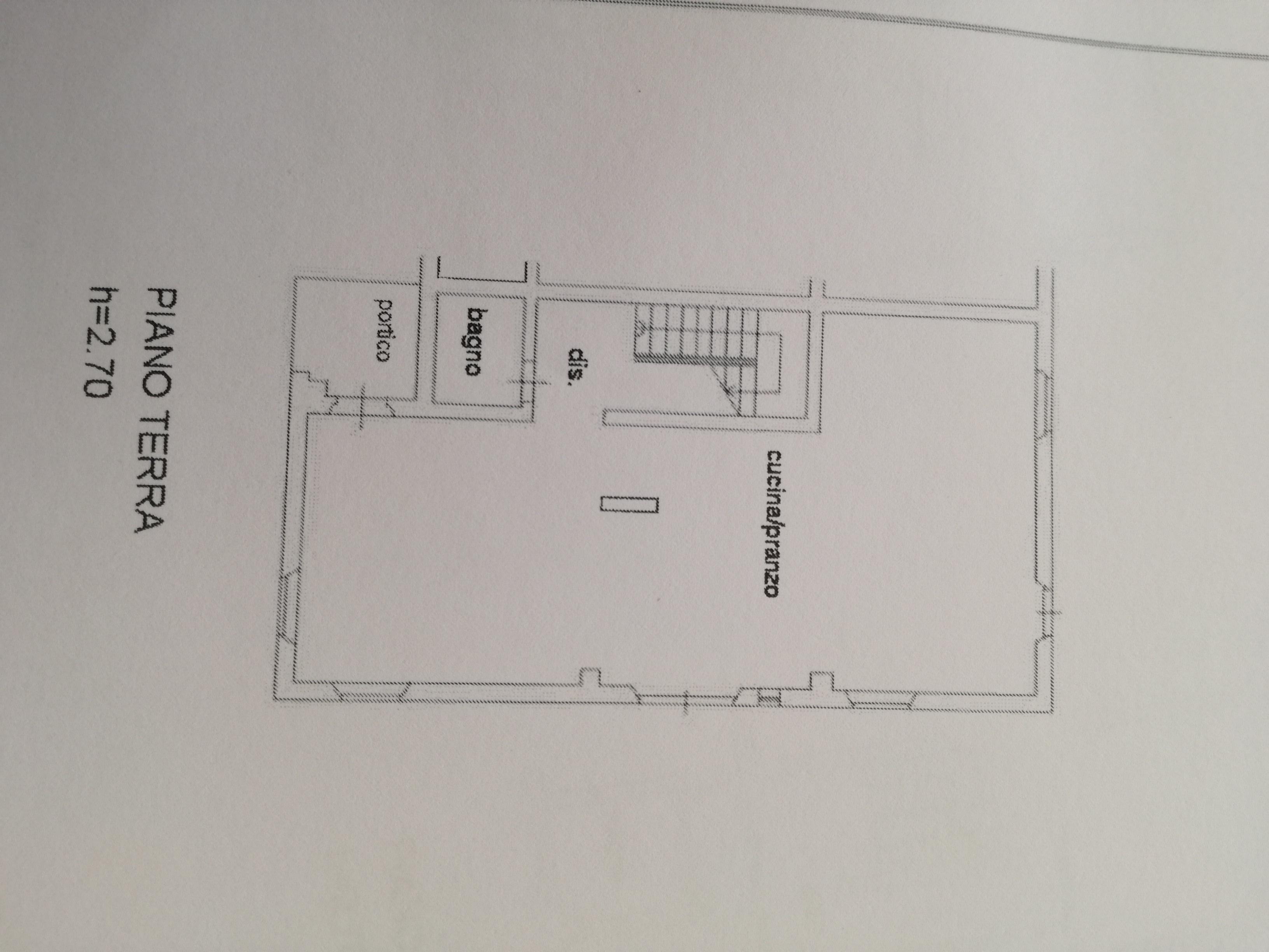 Planimetria 1/3 per rif. 2953