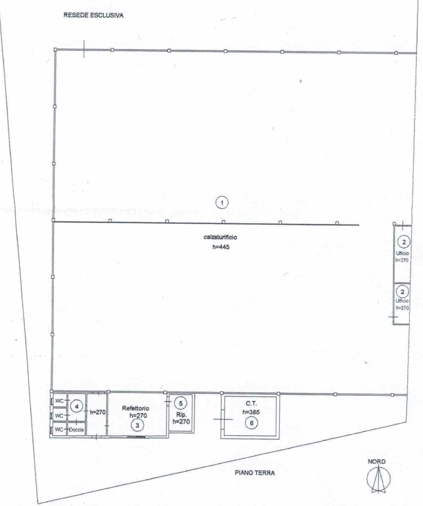 Planimetria 1/2 per rif. 2955