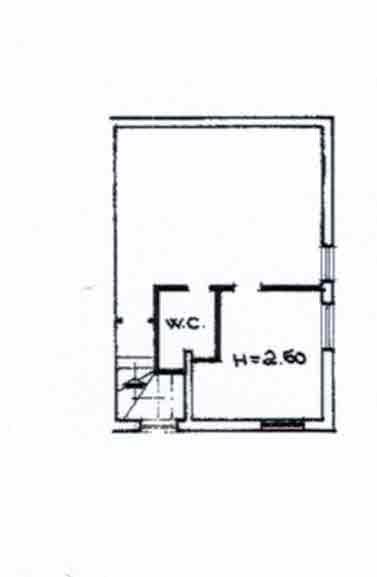 Planimetria 2/2 per rif. 2956