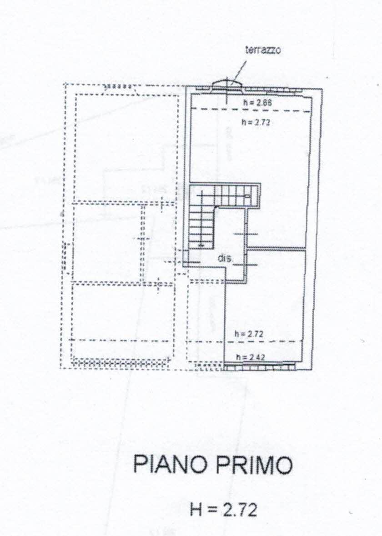 Planimetria 2/3 per rif. 2958