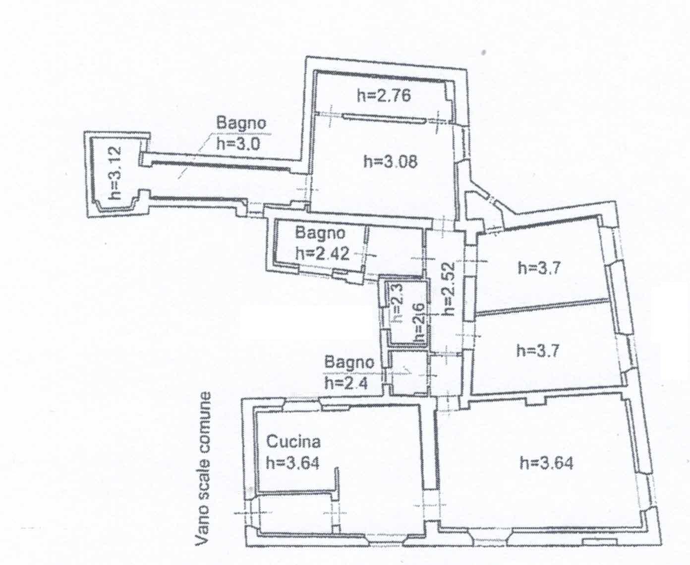 Planimetria 1/1 per rif. 2961