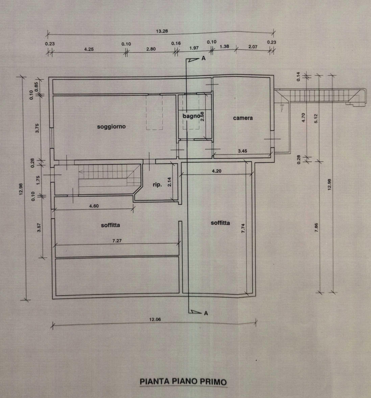 Planimetria 2/2 per rif. 2962