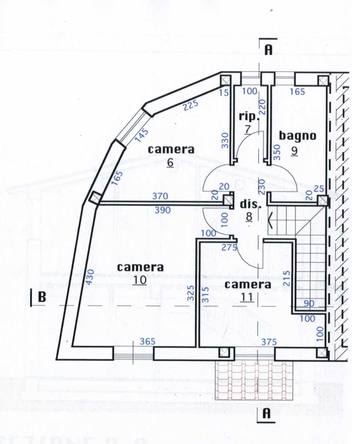 Planimetria 2/2 per rif. 2965