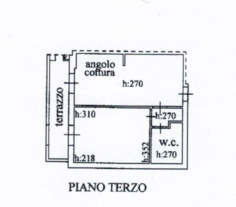 Planimetria 1/1 per rif. 2966