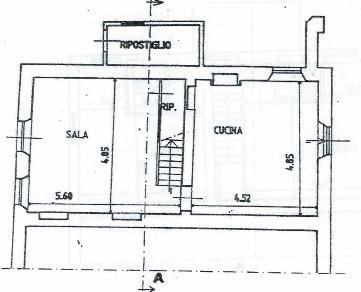 Planimetria 1/3 per rif. 2968