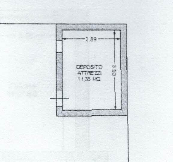 Planimetria 3/3 per rif. 2969