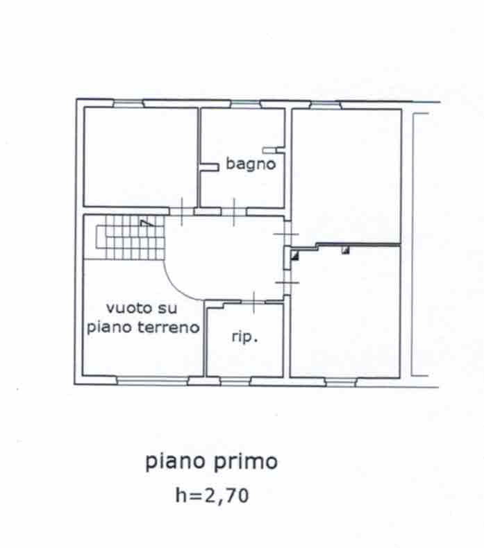 Planimetria 2/4 per rif. 2975