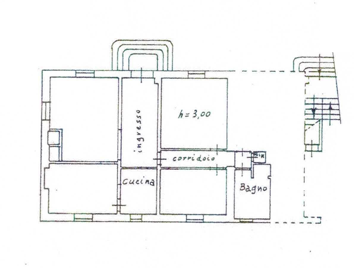 Planimetria 1/2 per rif. 2978