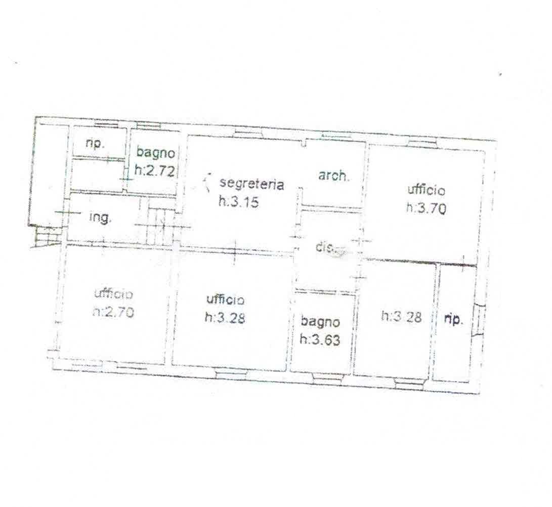Planimetria 2/2 per rif. 2978