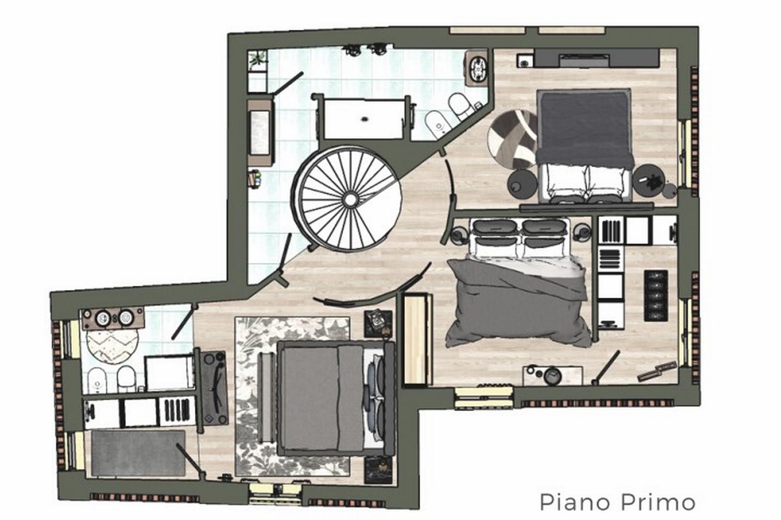 Planimetria 2/2 per rif. 2982