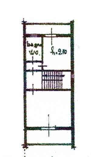 Planimetria 3/4 per rif. 2994