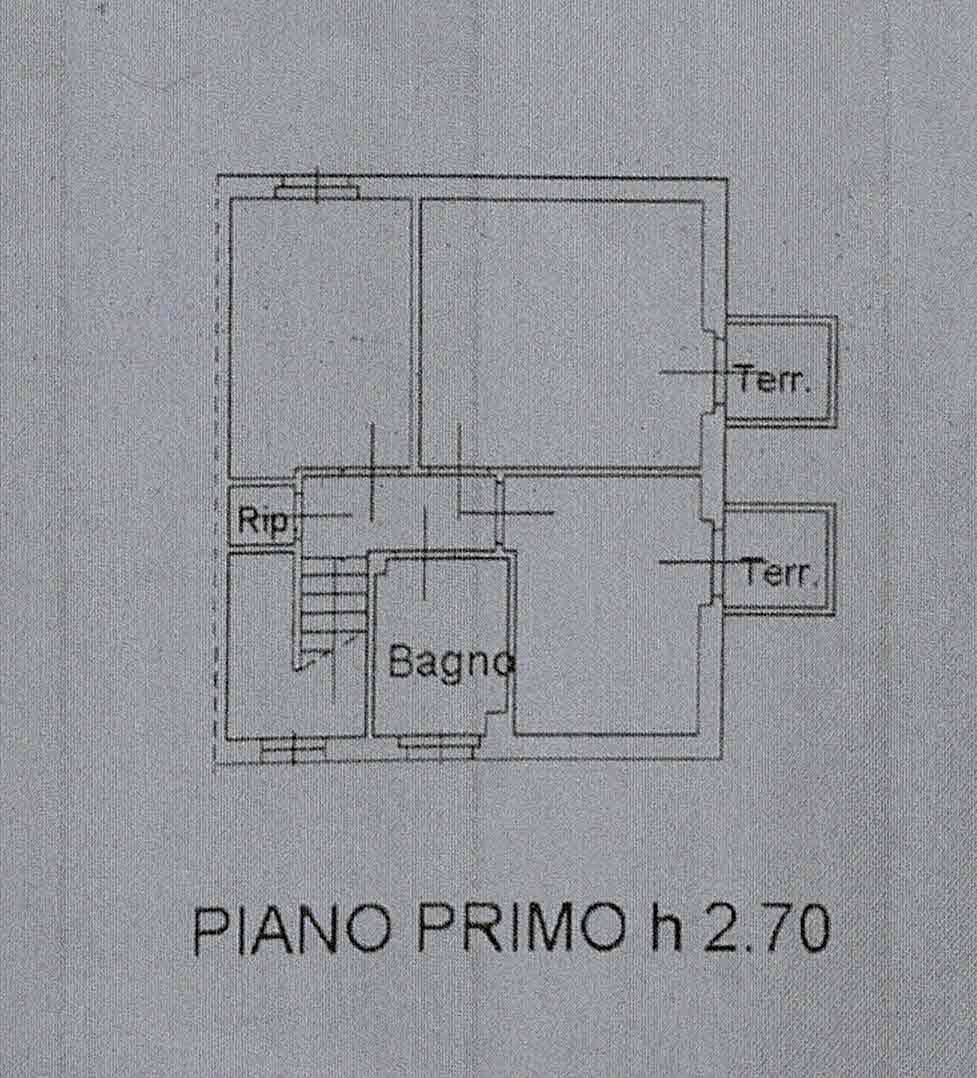 Planimetria 2/3 per rif. 2998
