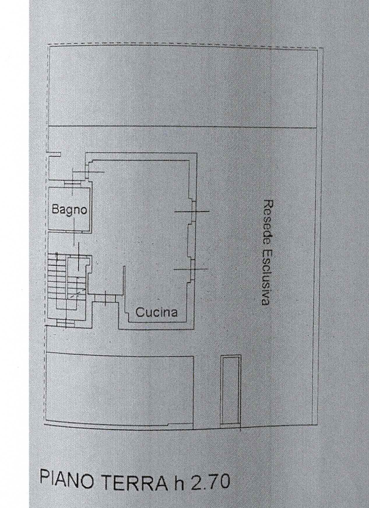 Planimetria 1/3 per rif. 2998