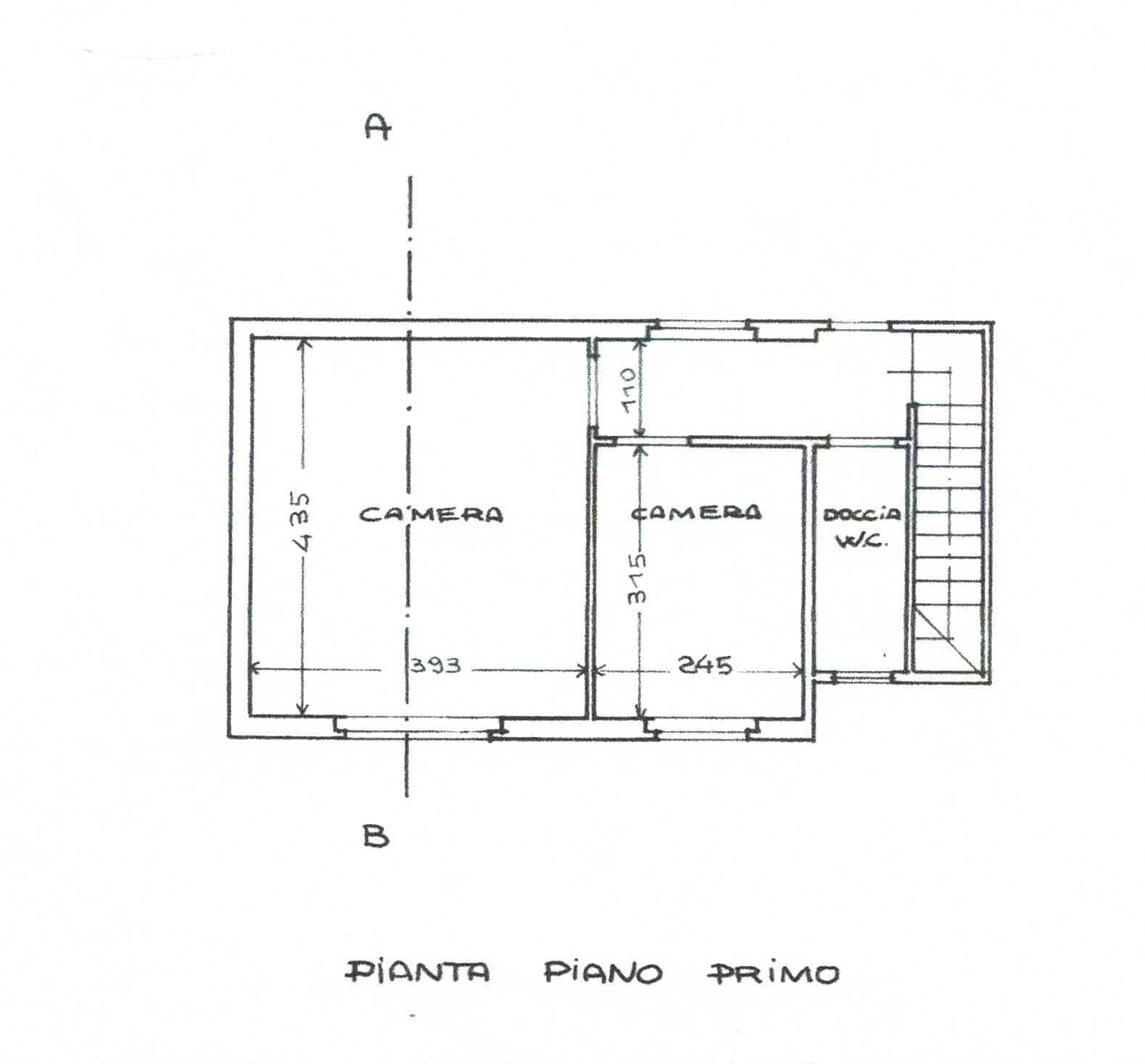 Planimetria 2/3 per rif. 3000
