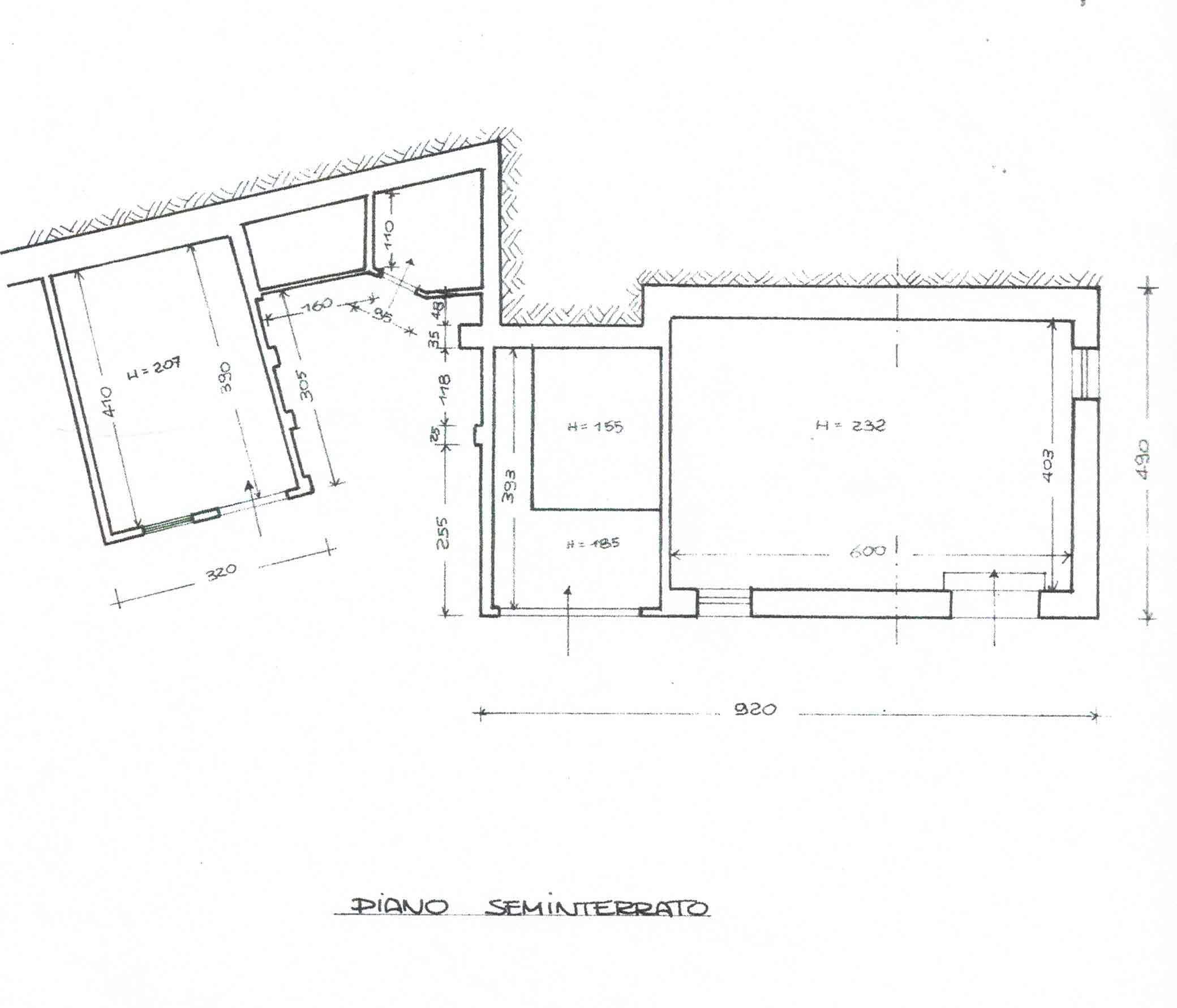 Planimetria 3/3 per rif. 3000