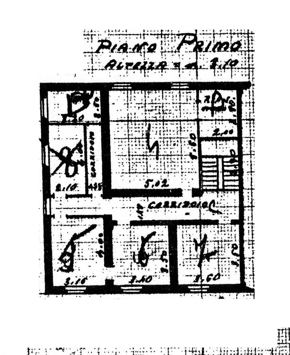 Planimetria 2/3 per rif. 3002
