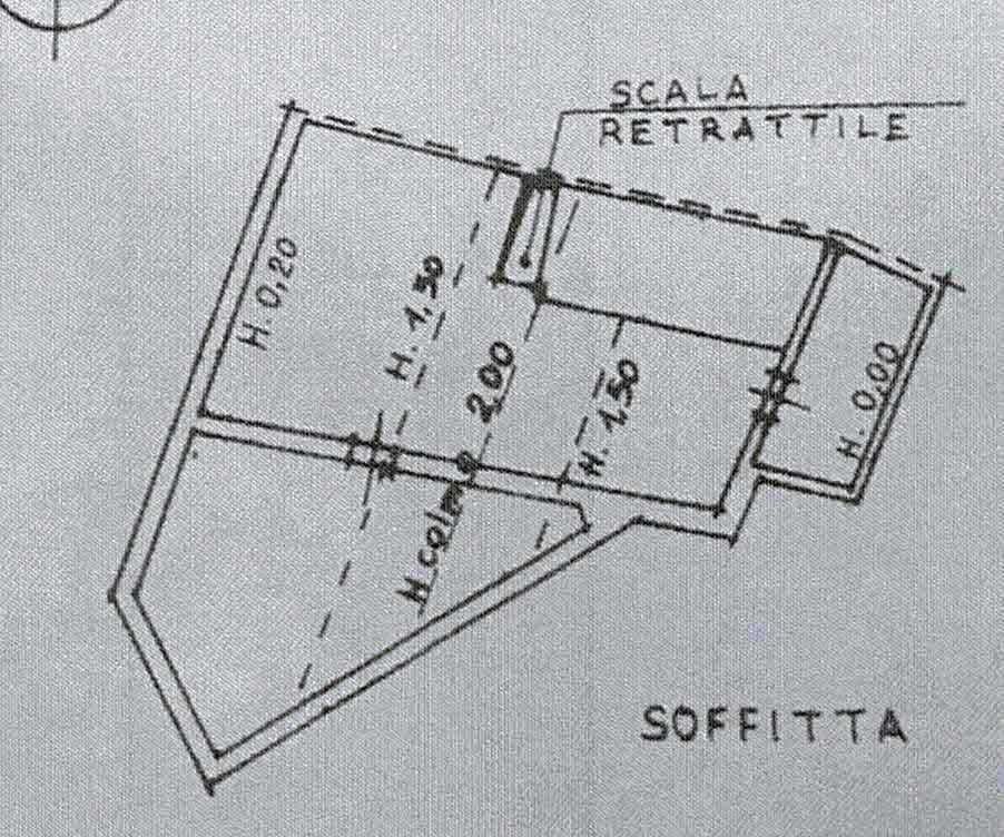 Planimetria 2/2 per rif. 3004