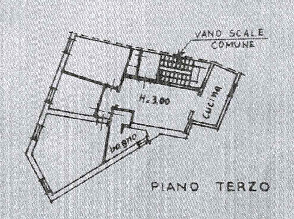 Planimetria 1/2 per rif. 3004