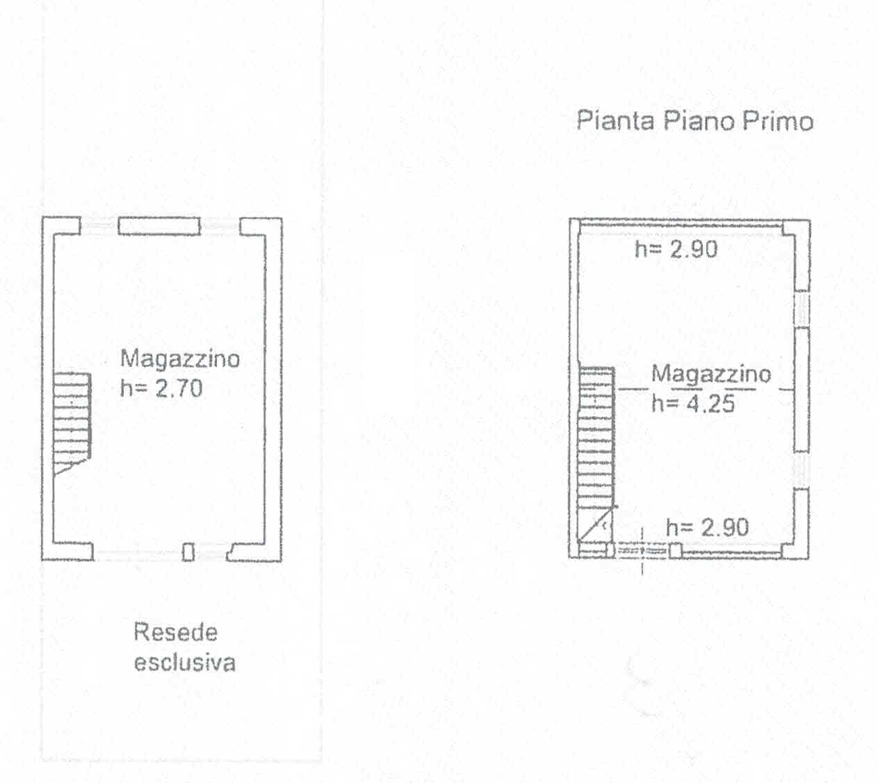 Planimetria 4/4 per rif. 3007