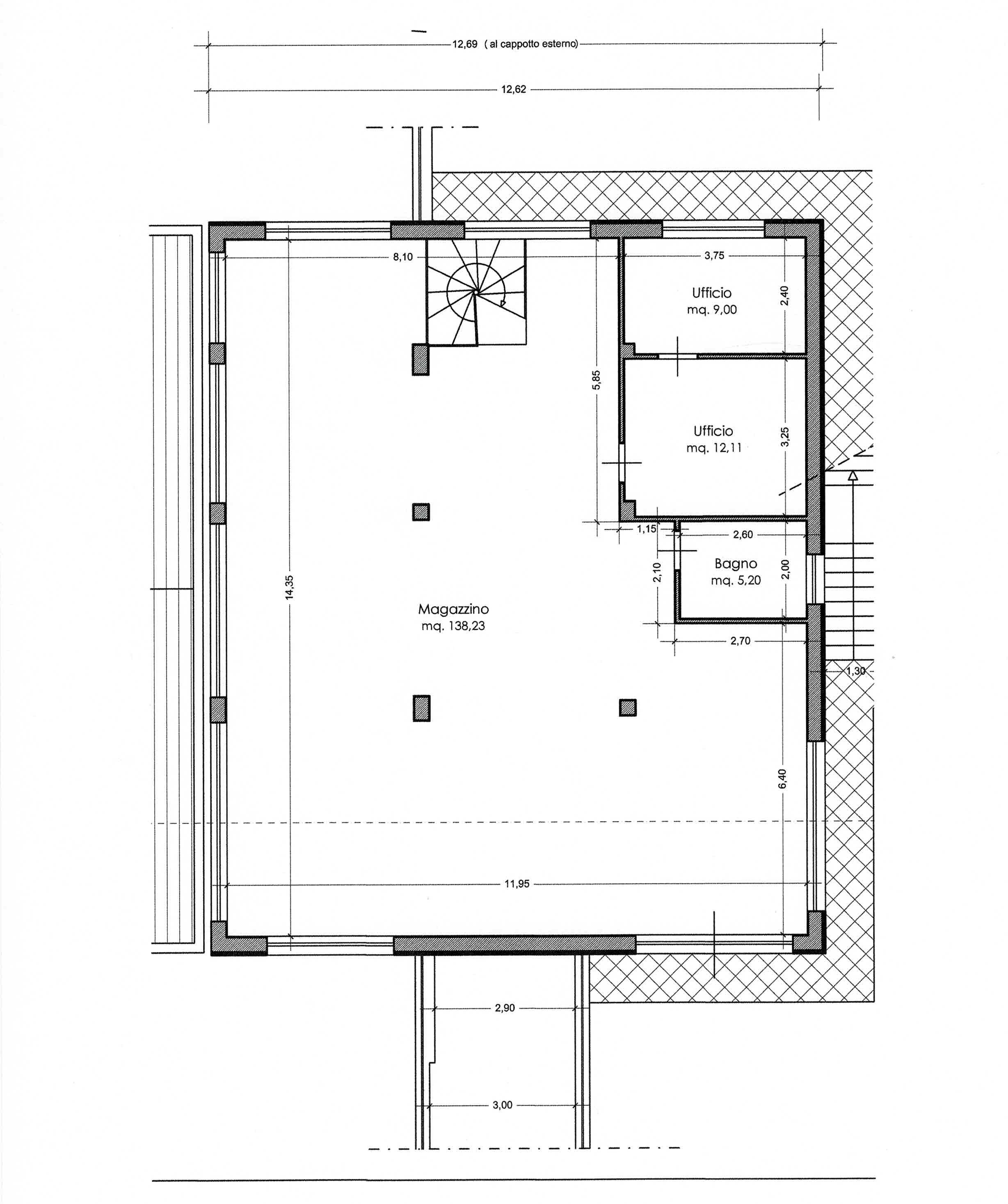 Planimetria 2/3 per rif. 3008