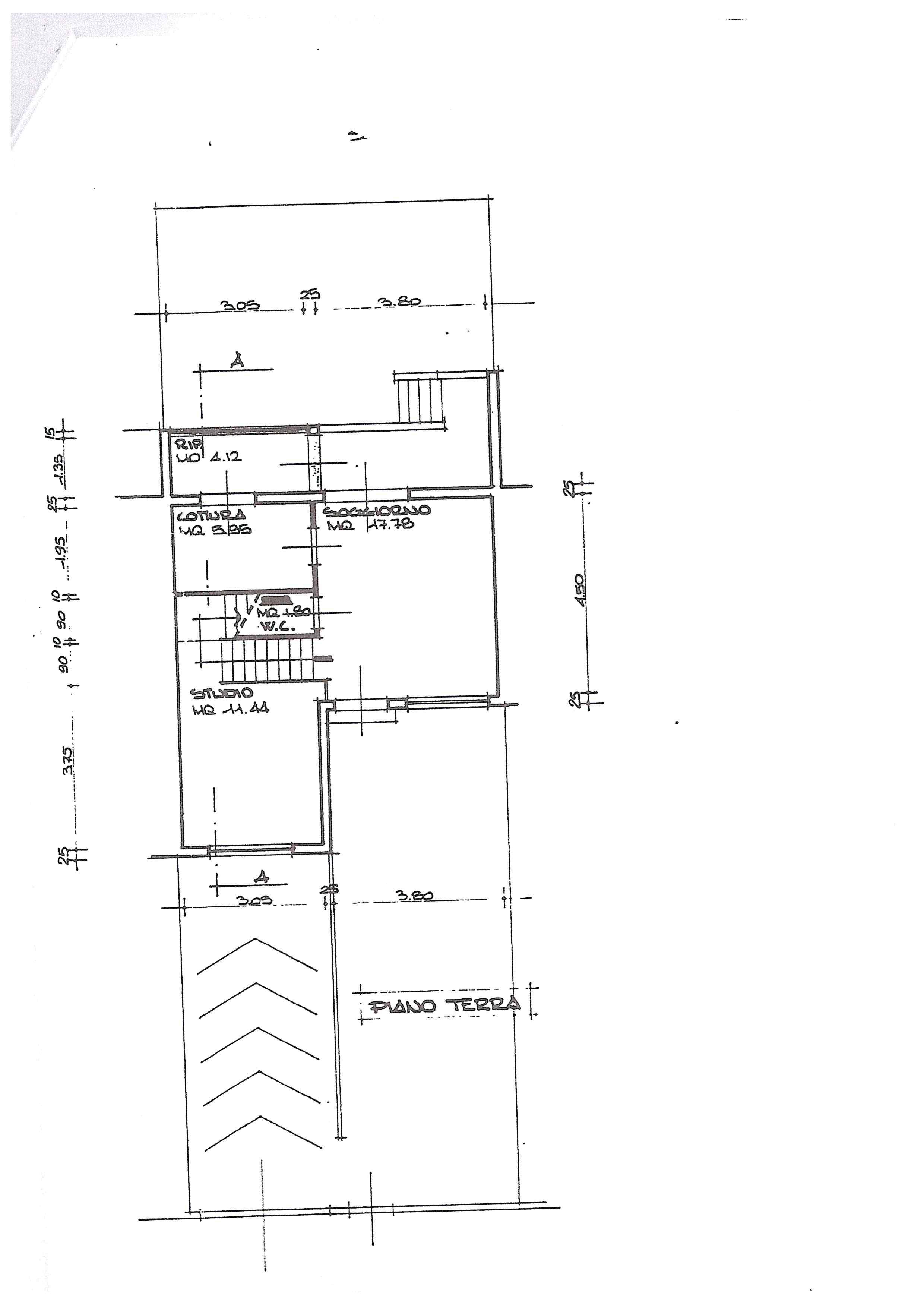 Planimetria 2/3 per rif. 388