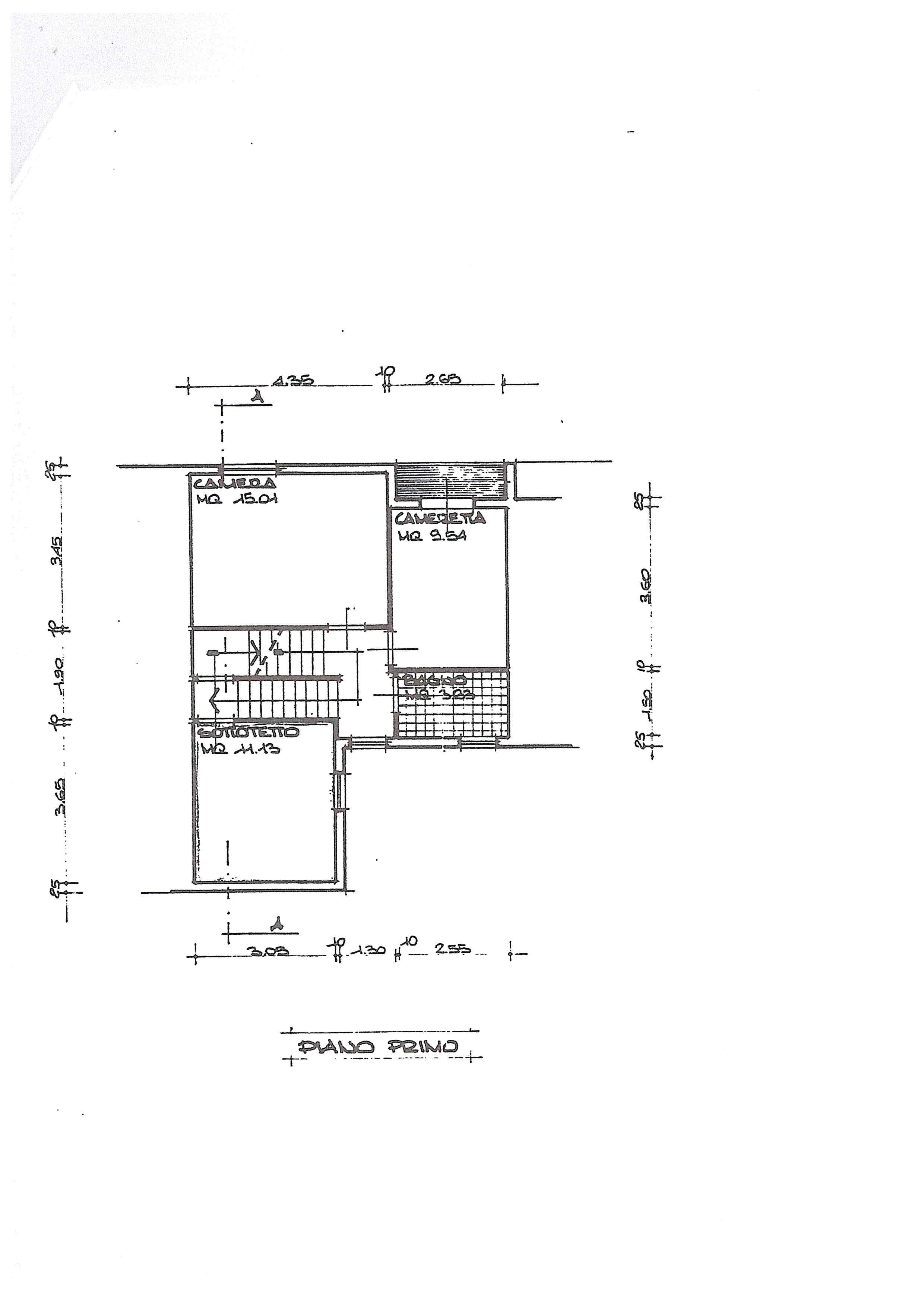 Planimetria 3/3 per rif. 388