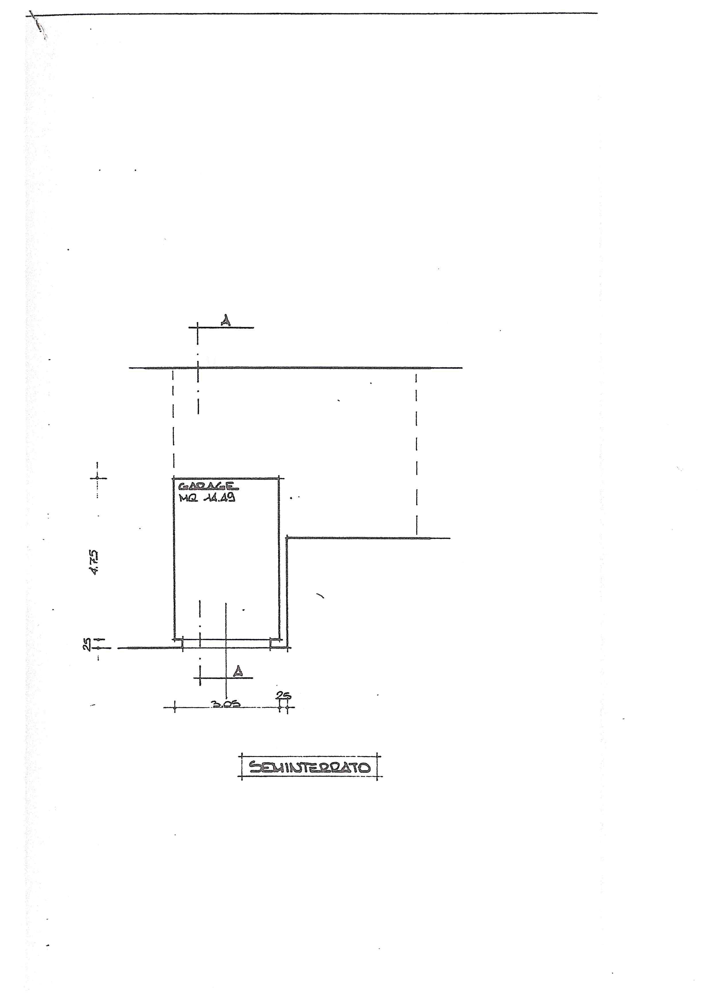 Planimetria 1/3 per rif. 388