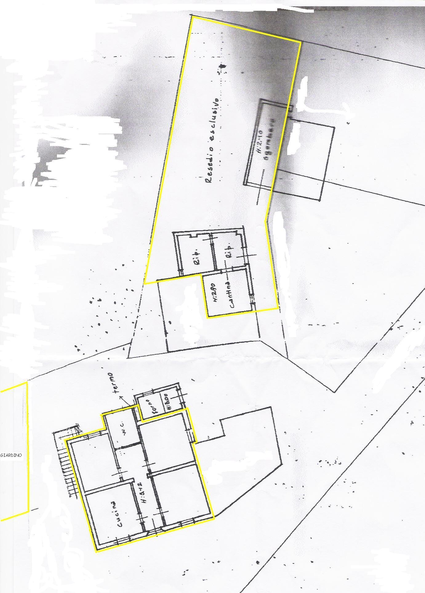 Planimetria 2/3 per rif. 263