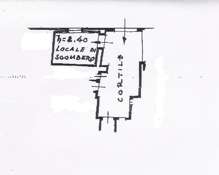 Planimetria 2/2 per rif. VFC014