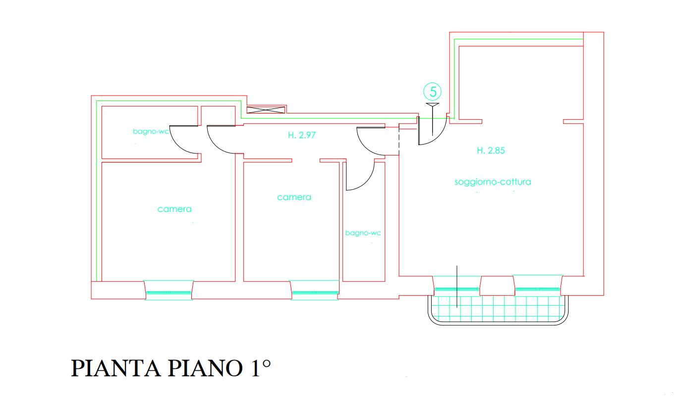 Planimetria 1/1 per rif. 056
