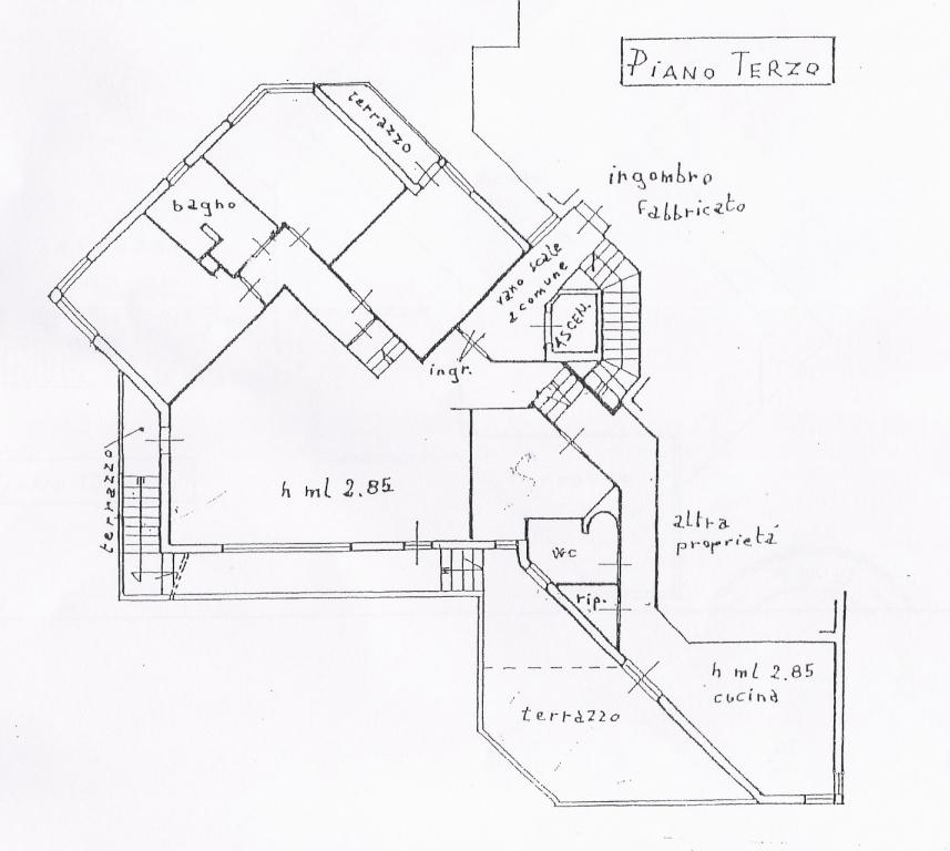Planimetria 1/3 per rif. 267