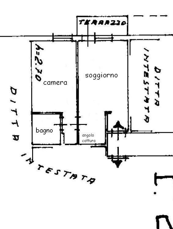 Planimetria 1/1 per rif. 427
