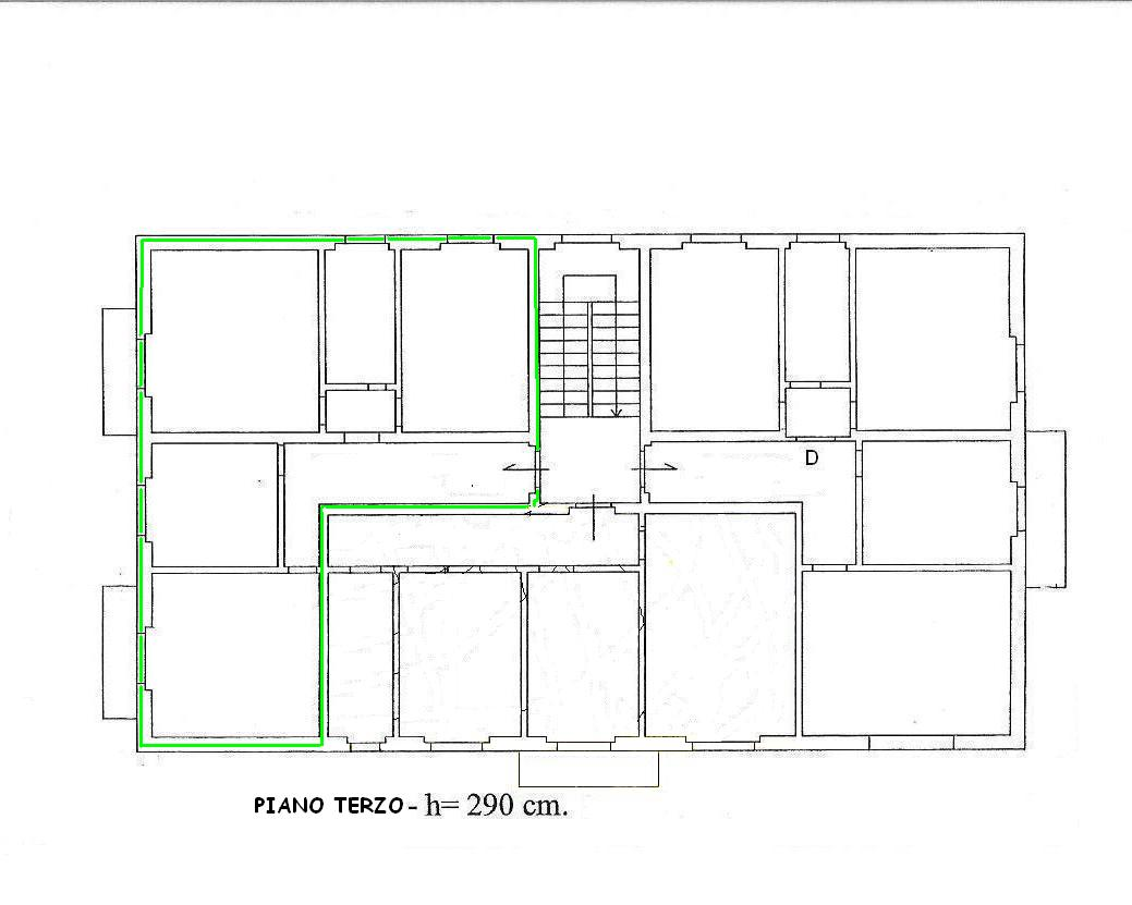 Planimetria 1/1 per rif. 425