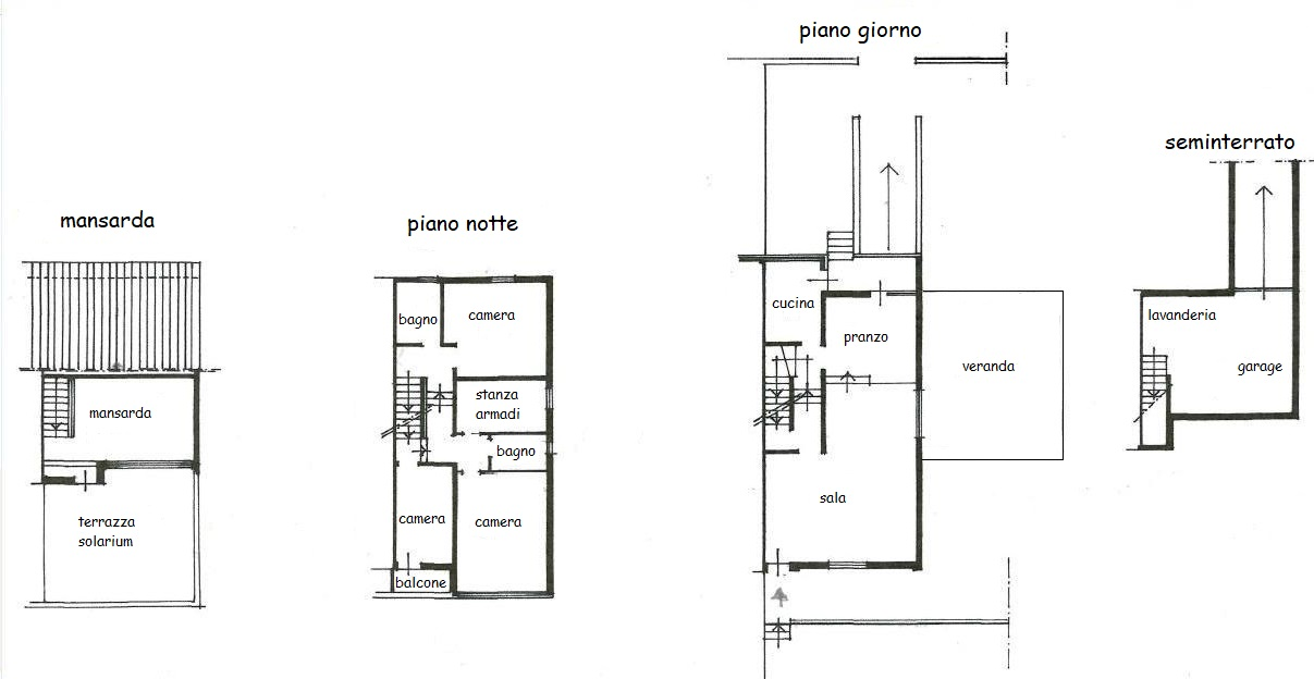 Planimetria 1/1 per rif. 241