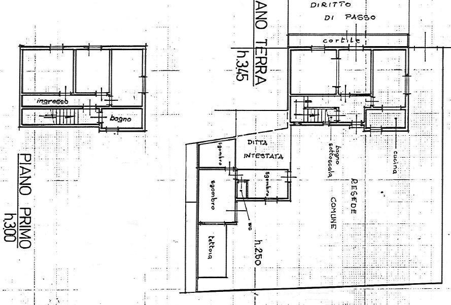 Planimetria 1/2 per rif. 152