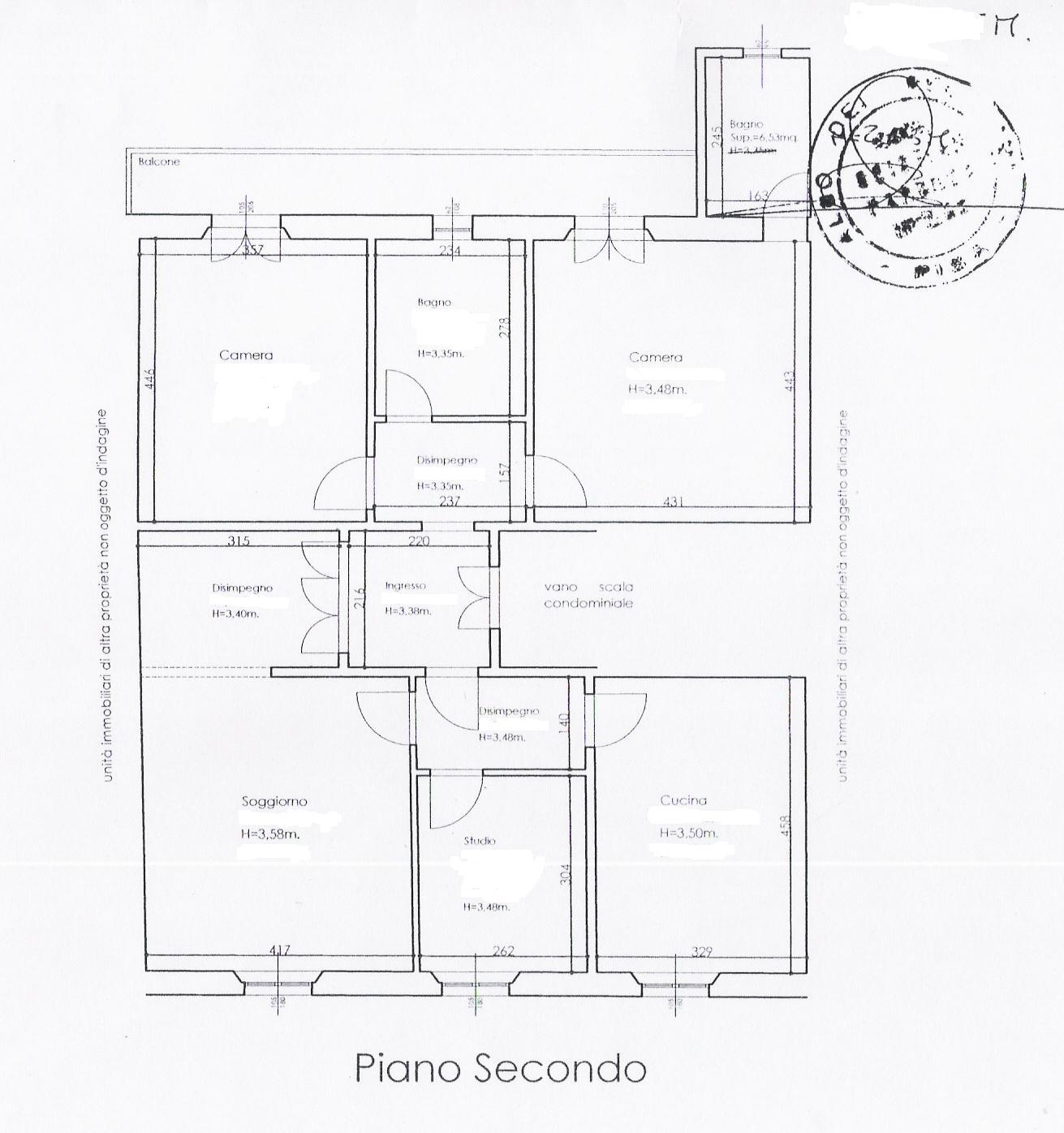 Planimetria 1/1 per rif. 176