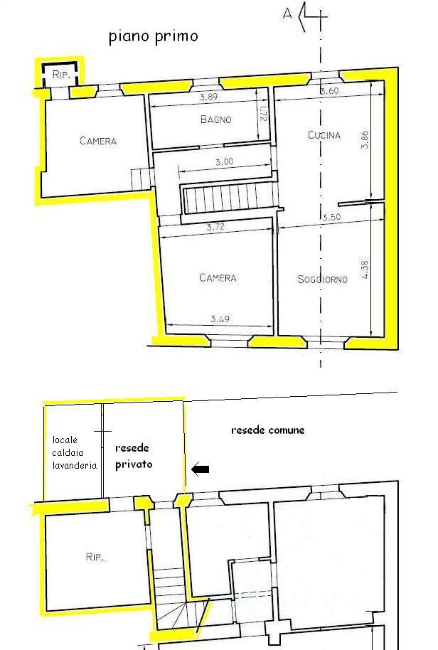 Planimetria 1/1 per rif. 415