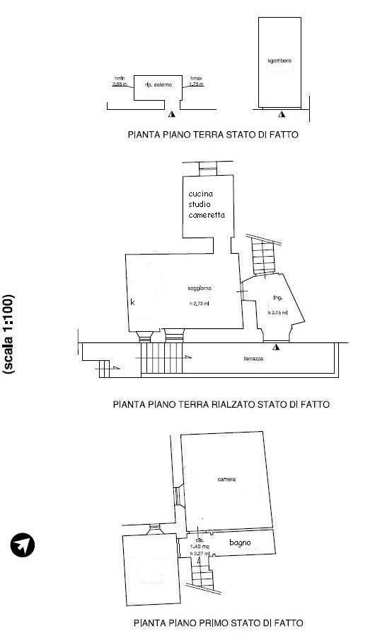 Planimetria 1/1 per rif. 098