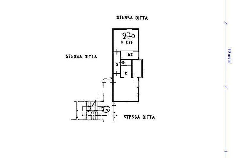 Planimetria 1/1 per rif. A385