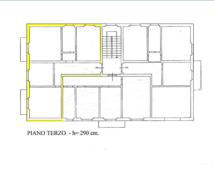 Planimetria 1/1 per rif. A316