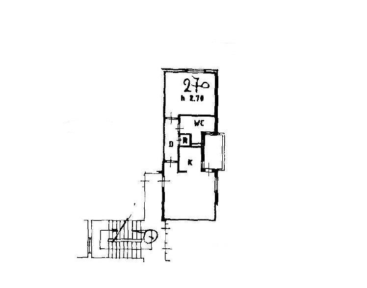 Planimetria 1/1 per rif. A078